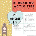 21 reading activities