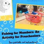 numbers activities for preschoolers