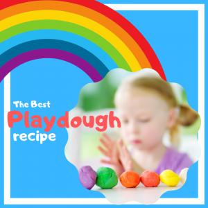 The BEST Playdough Recipe square