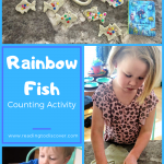 rainbow fish preschool counting activity