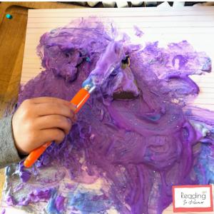 preschool 3d painting