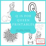 letter q printables