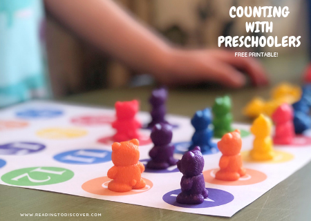 podia graphic counting with preschoolers