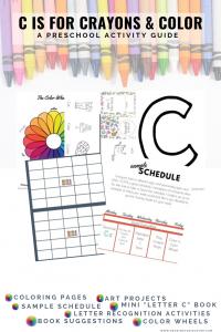 letter c preschool activity guide