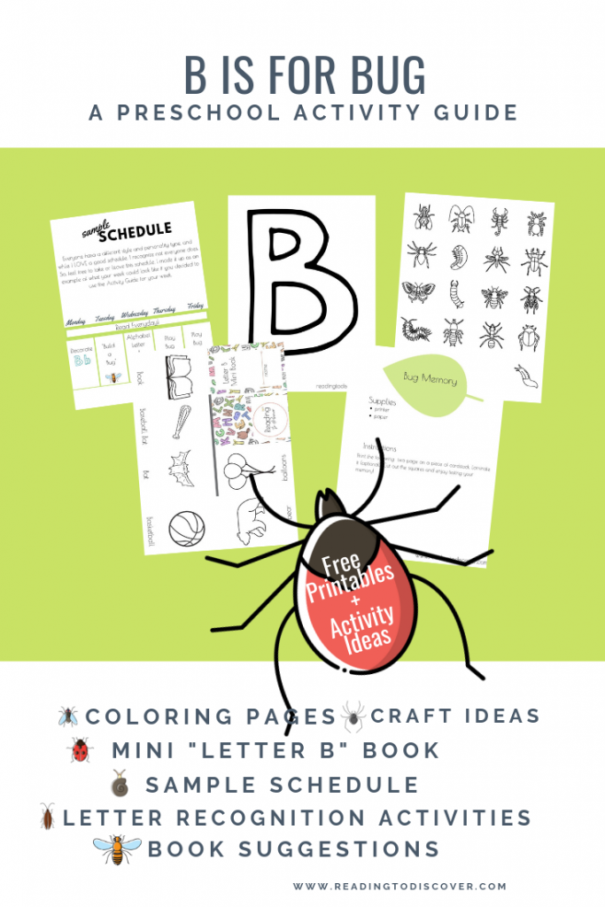 b is for bug graphic