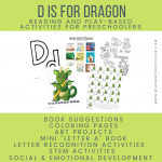 d is for dragons image