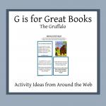 letter g preschool activity book list