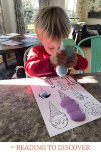 letter i preschool activity