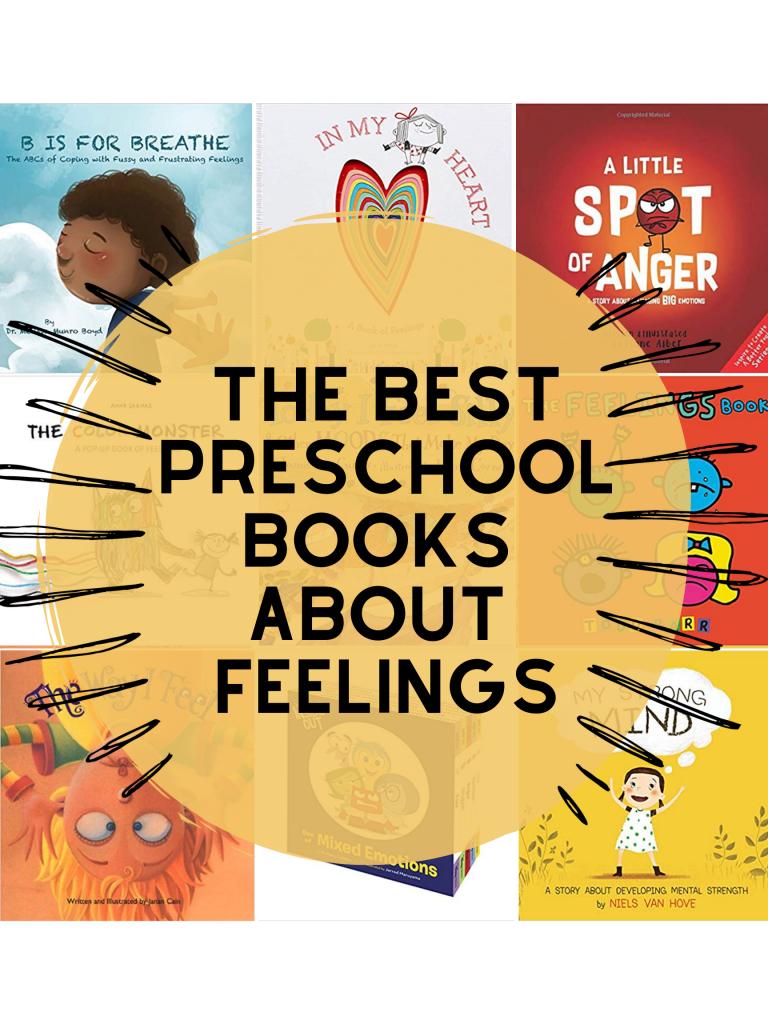 books about feelings for preschool