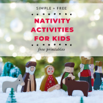 nativity activities for kids