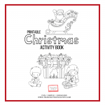 christmas activities for kids activity book