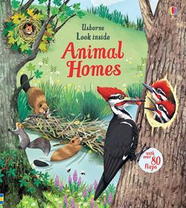 animal homes book