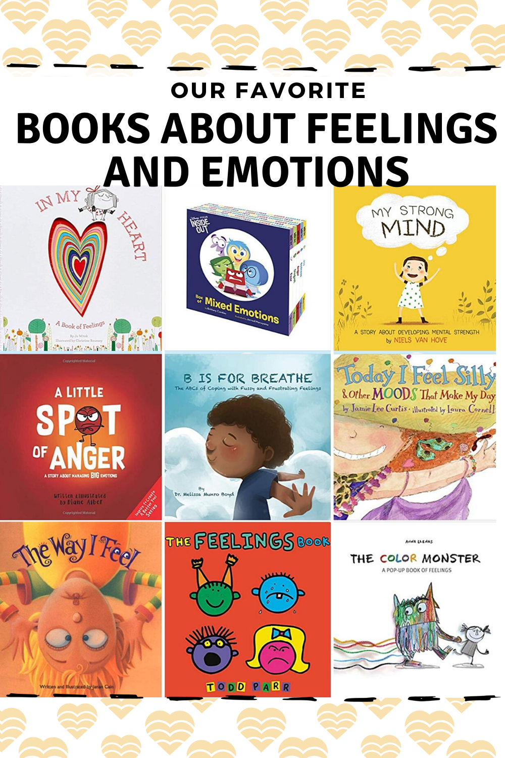 Books About Feelings for Preschoolers